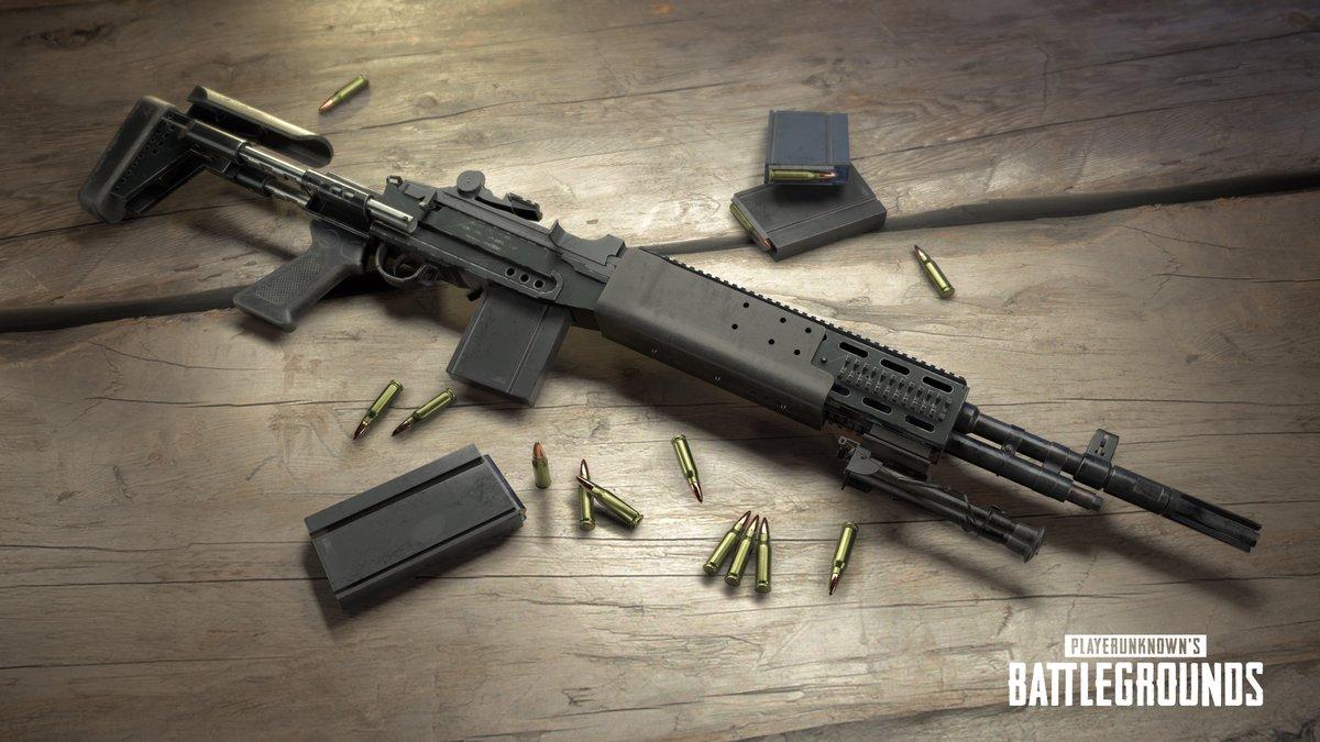 Новым оружием вигре станет Mk14 EBR калибра 7.62 mm