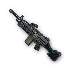 Пулемет M249 в PUBG