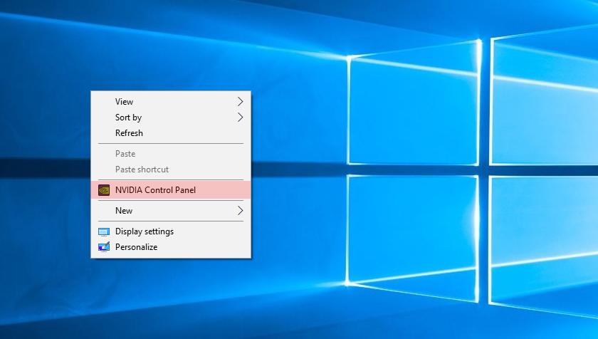 Настройка панели управления NVidia для игры вPUBG