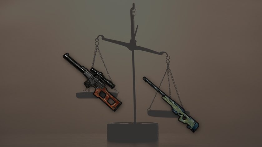 Сравнение снайперских винтовок (SR) вPUBG: скорострельность, урон, скорость полета пули иперезарядка