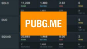 PUBG.ME или Как посмотреть свою статистику