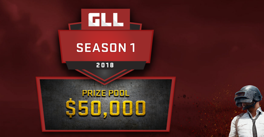 Новая лига по PUBG с призом в 50 000$.