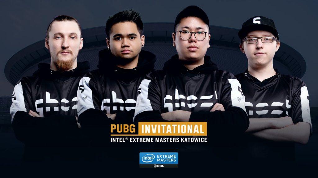 Team Ghost Gaming PUBG