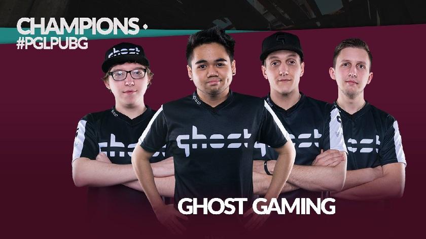 Ghost Gaming выиграли $50,000 на PGL-PUBG Spring Invitational