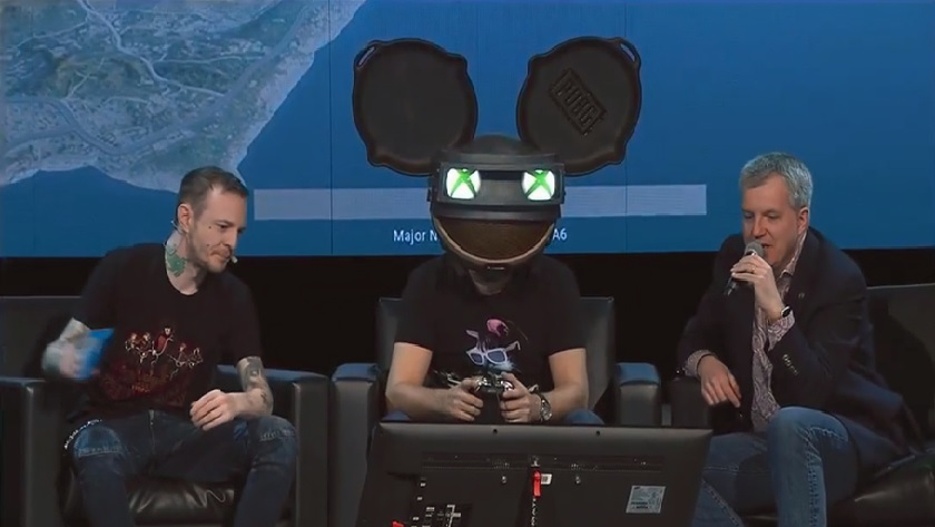 Диджей Deadmau5 сыграл в PUBG на Xbox