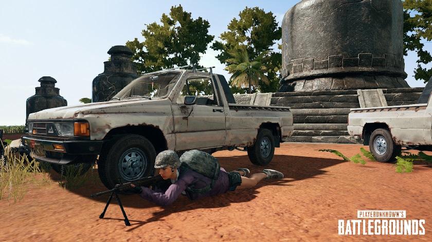 Эксклюзивное оружие и автомобиль для Санока, кастомные пользовательские игры — патч #18 от 17.07 на тестовых серверах PUBG
