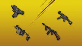 Пистолеты-пулеметы SMG в PUBG