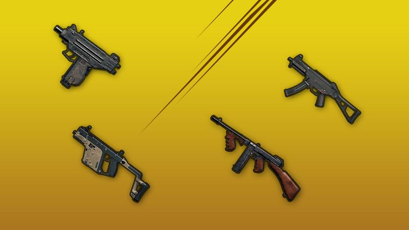 Пистолеты-пулеметы (SMG). Обзор ППвPUBG