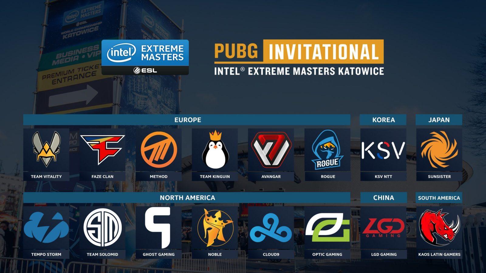 Стало известно количество команд, участвующих в PUBG Invitational