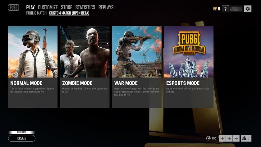 Открытое бета-тестирование пользовательских игр PUBG началось 18 июля