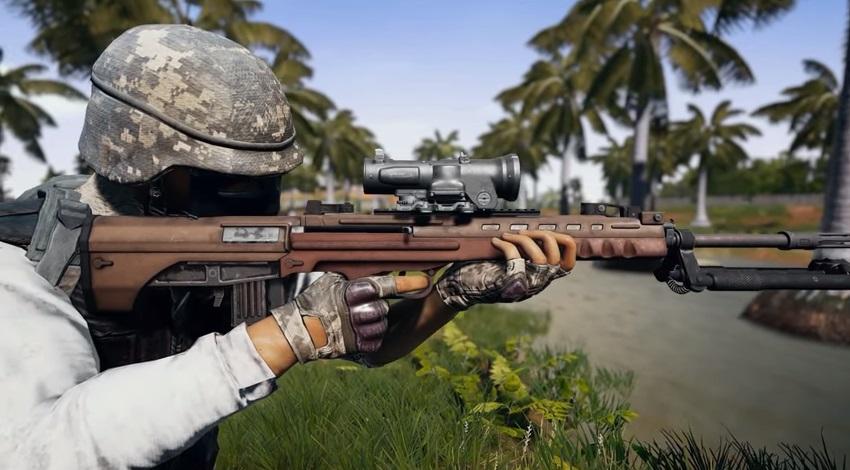 Новая винтовка QBU заменит Mini 14 на карте Санок