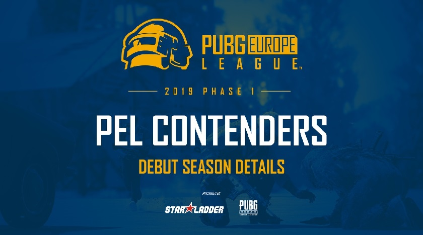 Результаты жеребьевки PUBG Europe League Contenders