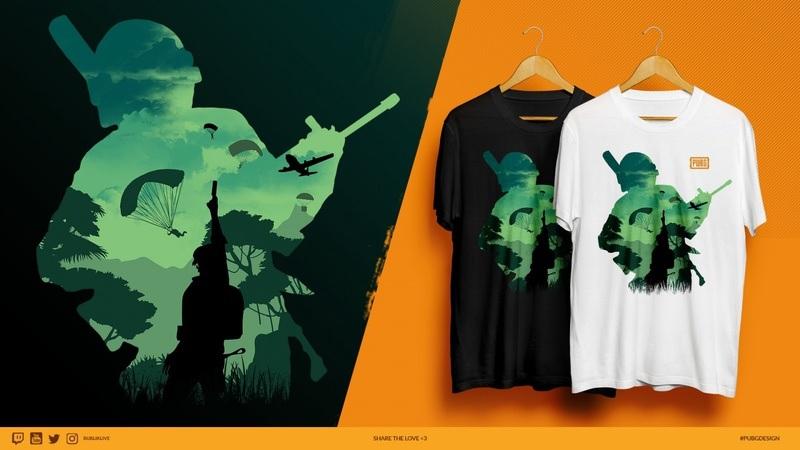 Россиянин выиграл в конкурсе дизайна футболок для PUBG