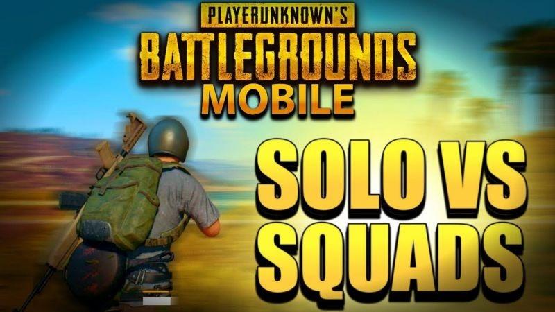 Как победить Solo vs Squad в PUBG Mobile