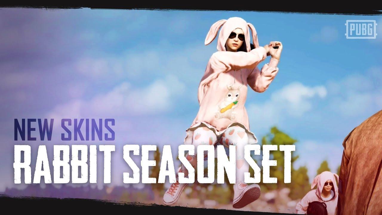 Новые скины в PlayerUnknown's Battlegrounds — набор Кроличий сезон