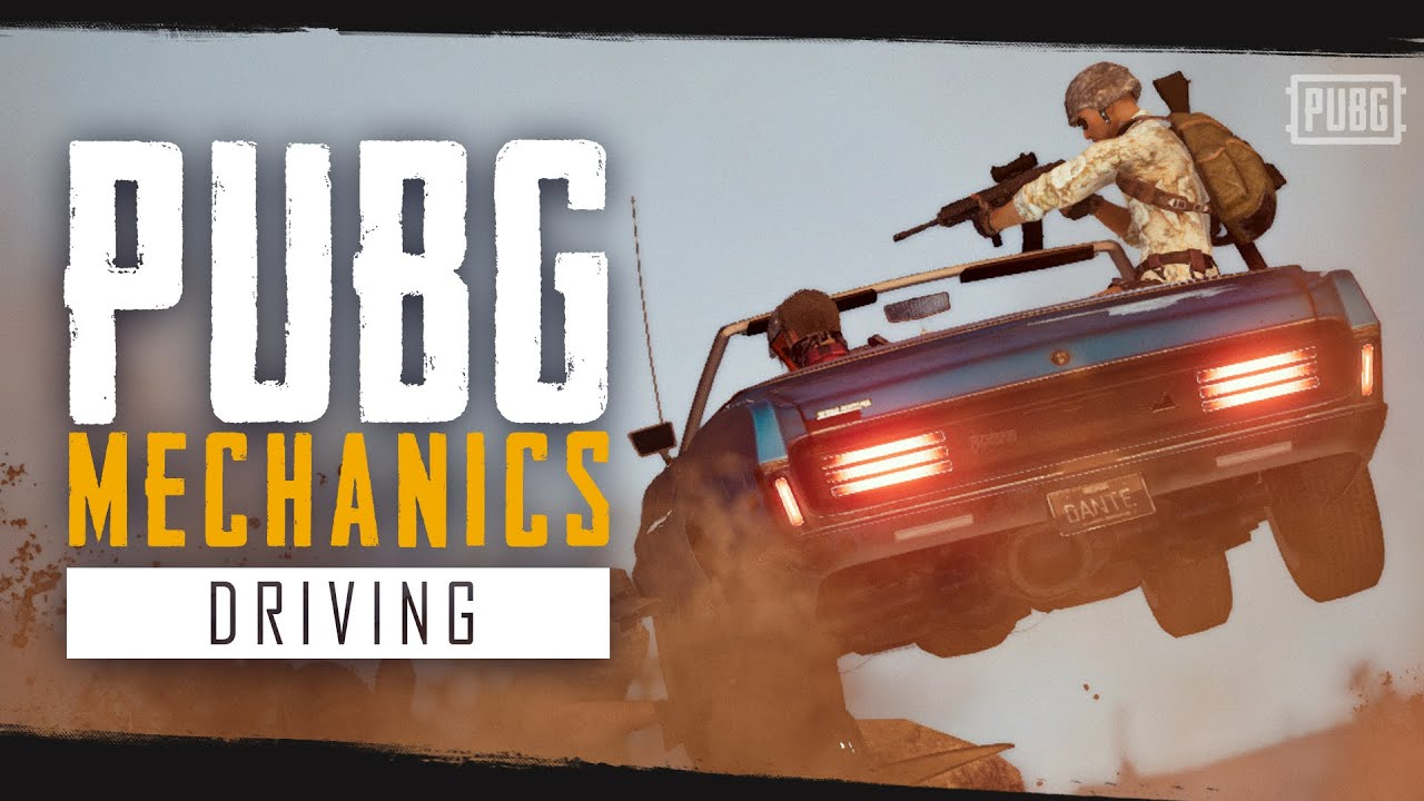 Механики PUBG: Вождение