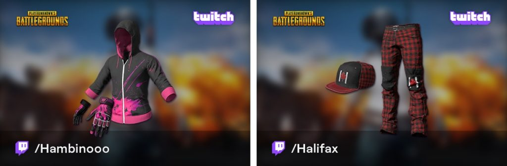 Новые скины из Twitch Broadcaster Royale в PUBG