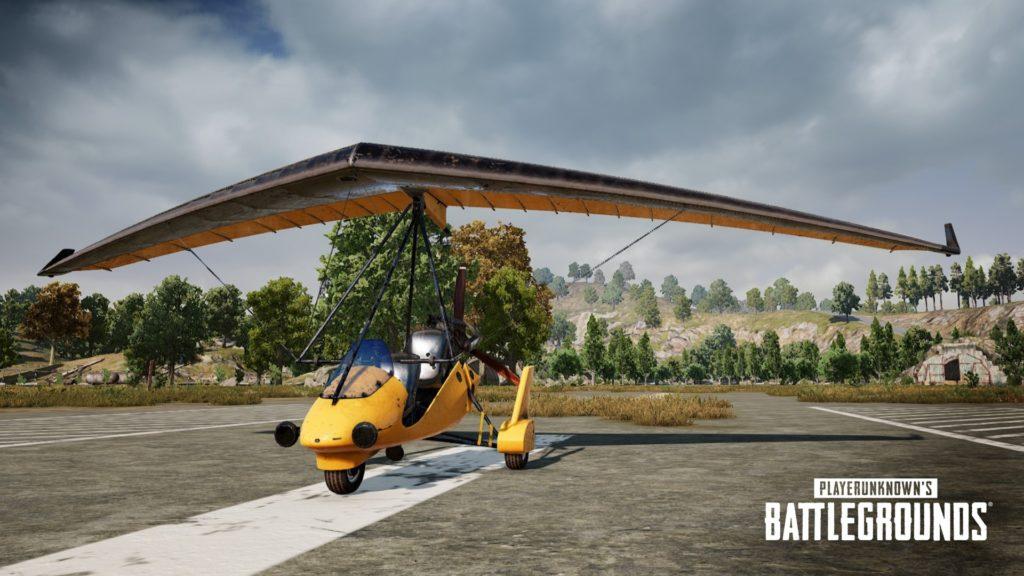 Аэроплан будет доступен в PUBG Labs
