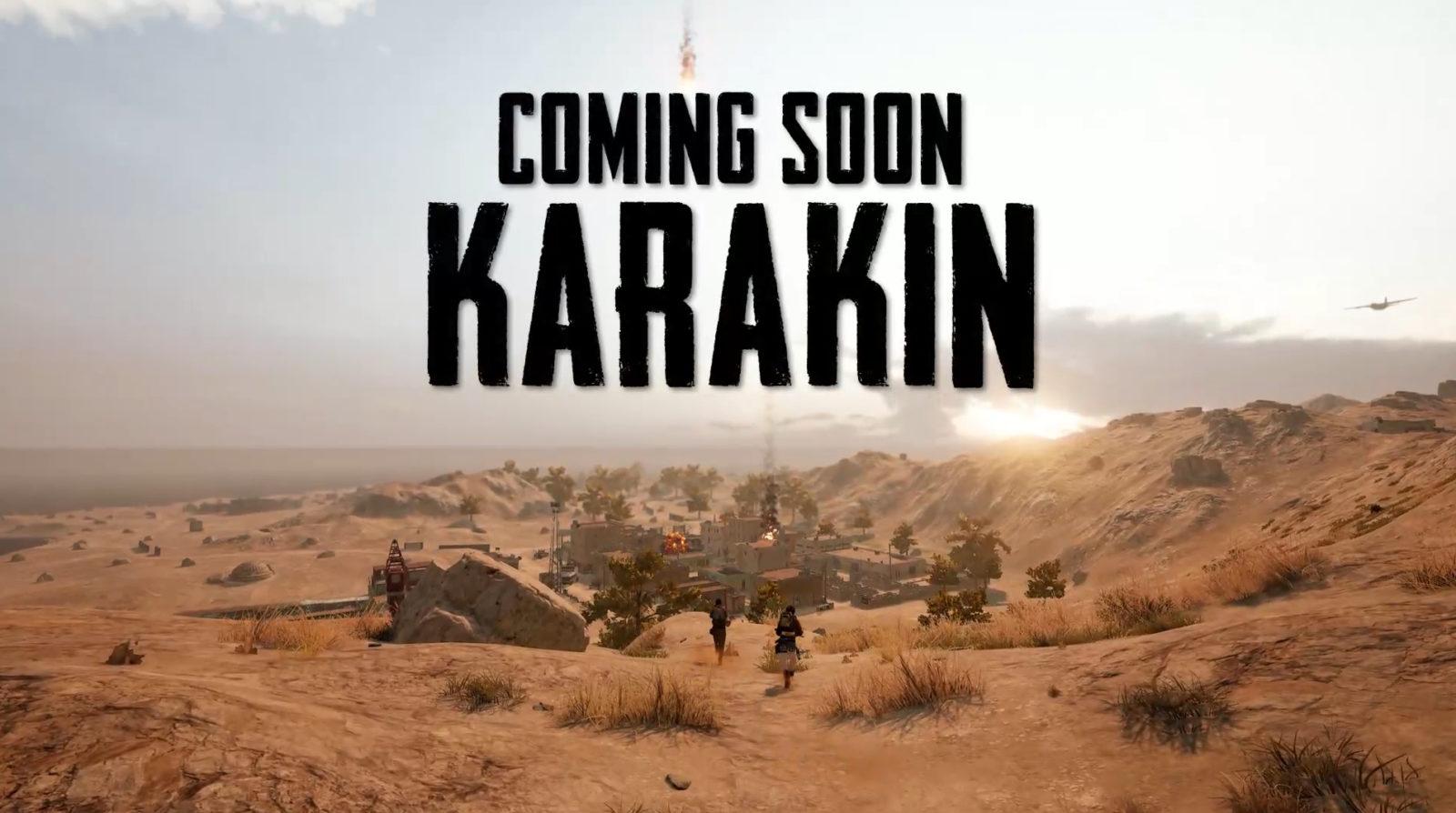 Новая карта Каракин, скоро в PUBG