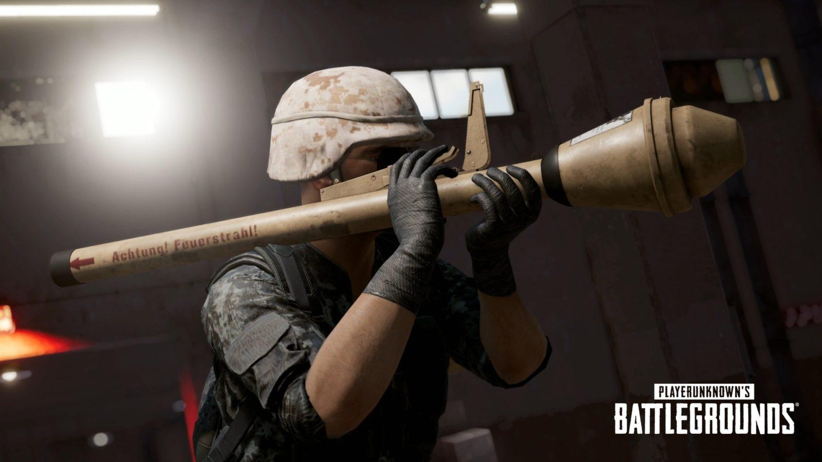 Новое оружие: Панцерфауст