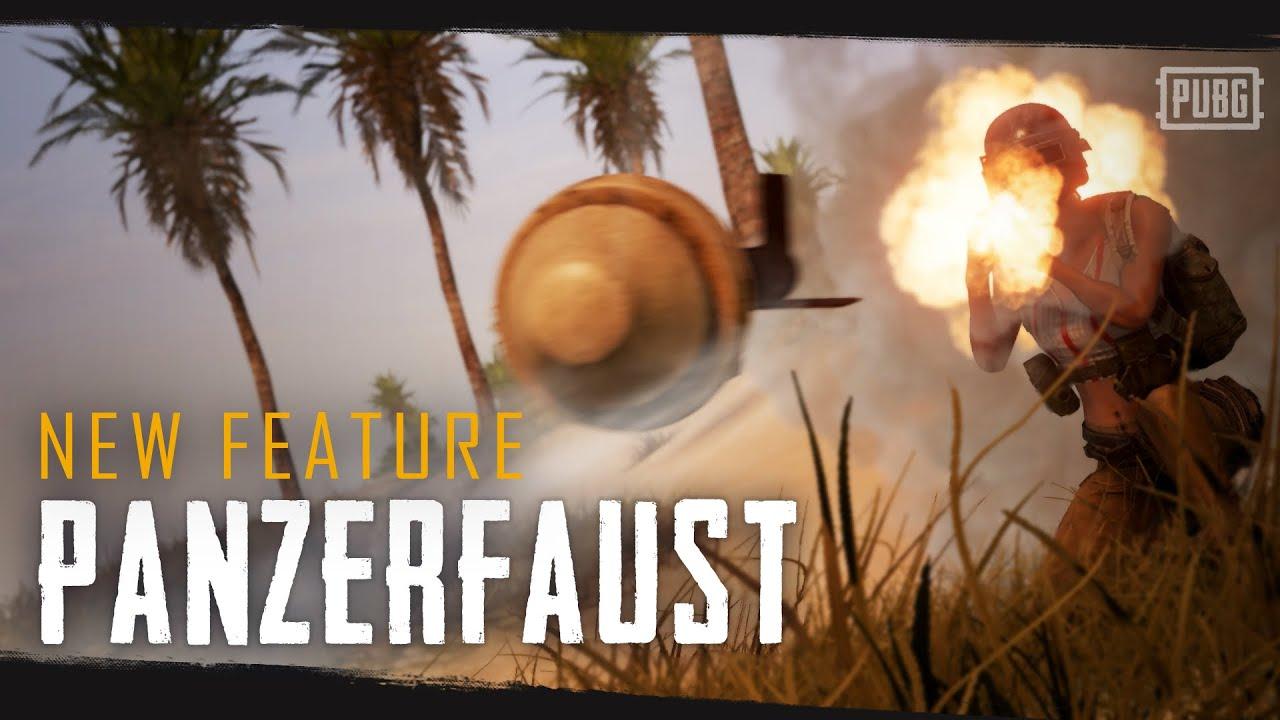Представляем новое взрывоопасное оружие — Панцерфауст