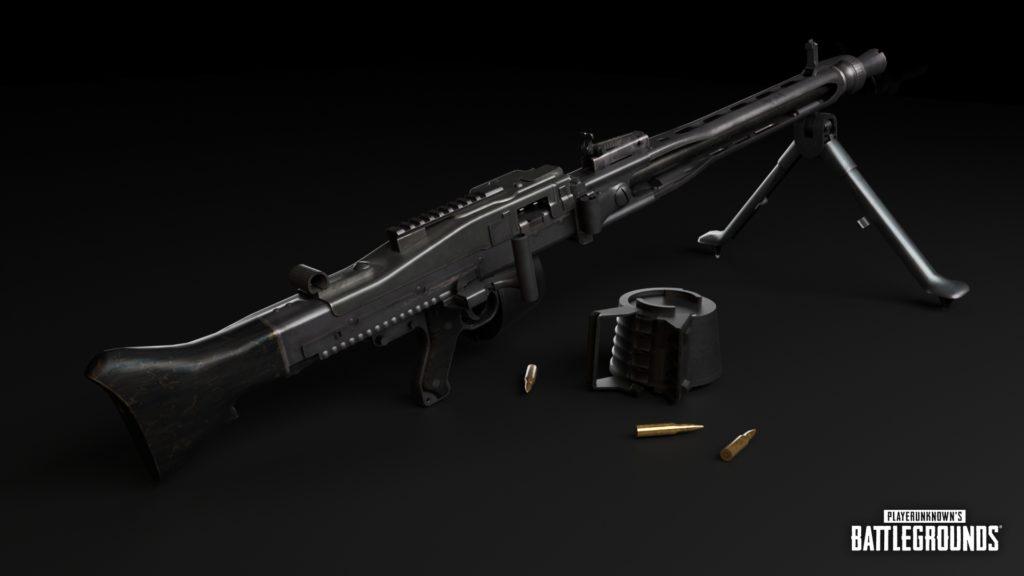 Новое оружие: MG3