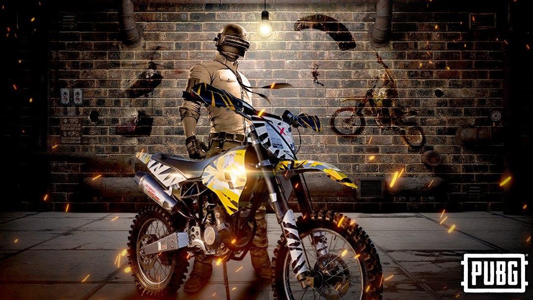 Кроссовый мотоцикл который появится в ближайшем обновлении