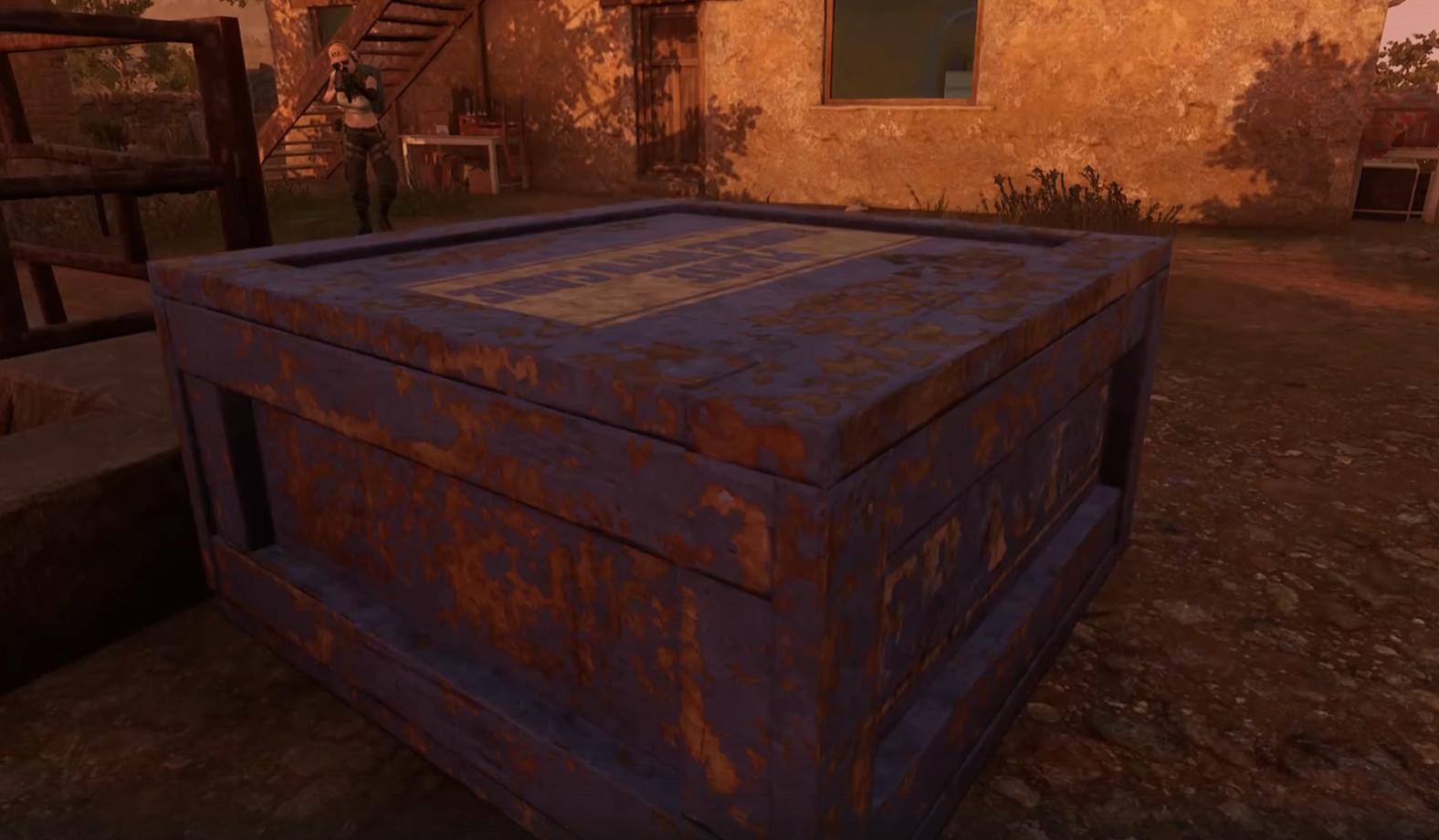 Следите за разрушаемыми синими ящиками при игре в Парамо