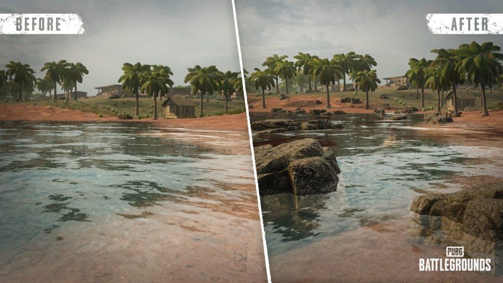 Географические улучшения северо-западного острова