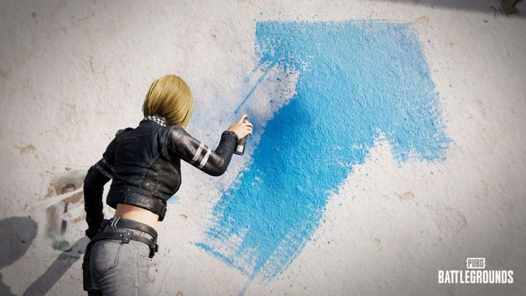 Новая особенность: граффити