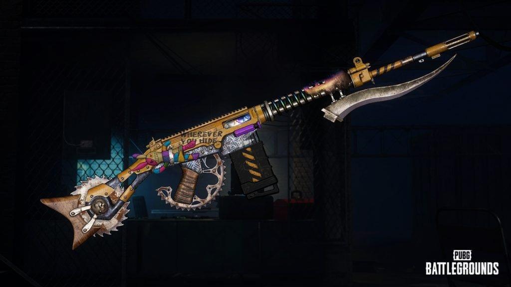 Новый улучшаемый скин оружия — SLR